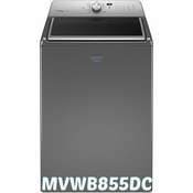 Maytag Top Load Washer  Large Capacity Washer with Steam Cycle - 5.3 cu. ft MVWB855DC