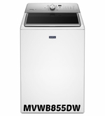 Maytag 5.3 cu. ft Washer XLarge Capacity Washer with Steam Cycle  ENERGY STAR MVWB855DW