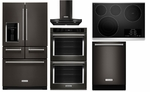 Black Stainless Steel Complete Kitchenaid Package Brand New Design From Kitchenaid this Appliance Suite Is Your Total Kitchenaid