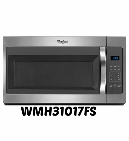 Whirlpool 1.7 cu ft Over-The-Range Microwave WMH31017FS STAINLESS STEEL