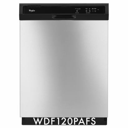 Whirlpool 63 dBA Dishwasher With The 1-Hour Wash Cycle - WDF120PAFS