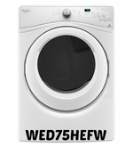 Whirlpool 7.4 cu. ft. Electric Dryer in White Model #WED75HEFW