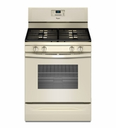 Whirlpool Biscuit Gas Range WFG515S0ET Freestanding Gas Range with AccuBake Temperature Management System 5.0 Cu. Ft.