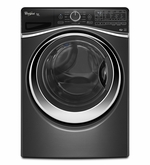 Whirlpool Duet 4.5 cu. ft. Steam Black Diamond Washer with Load & Go System WFW97HEDBD