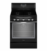 Whirlpool Black Ice Gas Range Freestanding 5.8 Cu. Ft. with AquaLift Self-Cleaning Technology WFG540H0EE