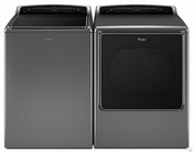 Whirlpool Cabrio Combo Pair - Whirlpool High-Efficiency Top Load Washer WTW8500DC 5.3 cu. ft. Cabrio -- Whirlpool High-Efficiency Electric Steam Dryer WED8500DC 8.8 cu. ft. Cabrio
