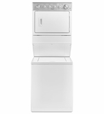 Whirlpool Combination Washer/Electric Dryer Stackable Washer and Dryer WET4027EW