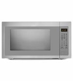 Whirlpool Countertop Microwave with Greater Capacity UMC5225DS 2.2 cu ft Stainless Steel
