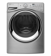 Whirlpool Diamond Steel Front Load Washer Duet Steam Front Load Washer with Load Go System 4.5 cu. ft. WFW97HEDU