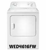 Whirlpool Dryer 7.0 cubic feet  Dryer with the Wrinkle Shield WED4616FW option