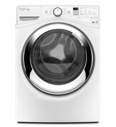 Whirlpool Duet Steam Front Load Washing Machine WFW87HEDW with Steam Clean Option 4.3 cu. ft.