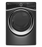 Whirlpool Front load Dryer Black Diamond  7.3 cu. ft. Duet  Front Load Electric Steam Dryer with ENERGY STAR Qualification WED97HEDBD