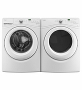 Whirlpool Front Load Laundry Pair Set  Whirlpool Front Load Washer Model # WFW75HEFW - Whirlpool Electric Dryer  Model #WED75HEFW