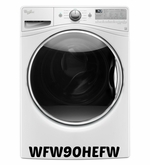 Whirlpool Front Load Washer with 12-Hour FanFresh option Model #WFW90HEFW  4.5 cu ft.