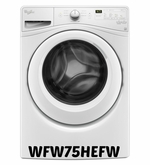 Whirlpool High-Efficiency Front Load Washer 4.5 cu. ft. in White, ENERGY STAR Model #WFW75HEFW