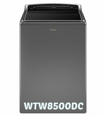 Whirlpool High-Efficiency Top Load Washer WTW8500DC with Precision Dispense 5.3 cu. ft. Cabrio ENERGY STAR