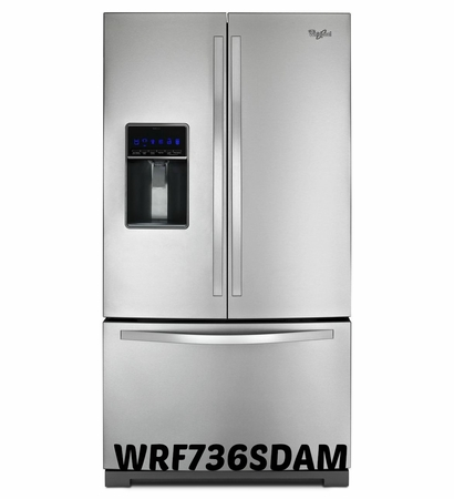 Whirlpool 26.1 cu. ft. French Door Refrigerator WRF736SDAM With MicroEdge Shelves ENERGY STAR