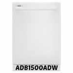 Amana WHITE  TALL TUB DISHWASHER WITH FULLY INTEGRATED CONSOLE AND LED DISPLAY ADB1500ADW
