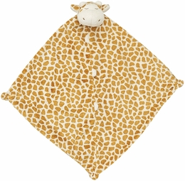 Angel Dear Mini Baby Blanket Brown Giraffe