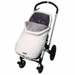 JJ Cole BundleMe Urban Toddler Ice White Car Seat, Stroller and Jogger Sack