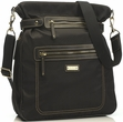 Storksak Claire Nylon Black Diaper Bag
