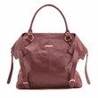 Timi and Leslie Charlie Burgundy Diaper Bag