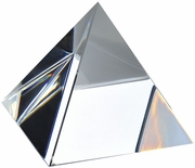 High Quality Clear Crystal Pyramid (M) 3 Inch