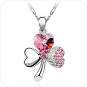 Lucky in Love Clover Pendant Necklace #20036