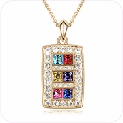 Rainbow Treasures Pendant Necklace #24371