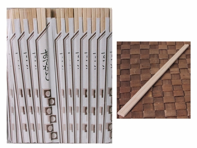 100 pairs Bamboo Disposable Chopsticks Bulk Set