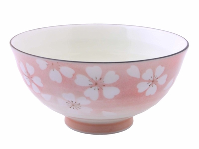 Cherry Blossom Pink Rice Bowl