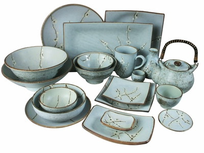 Japanese tea table - Japanese Tableware Sets Japanese Tableware Set Asian