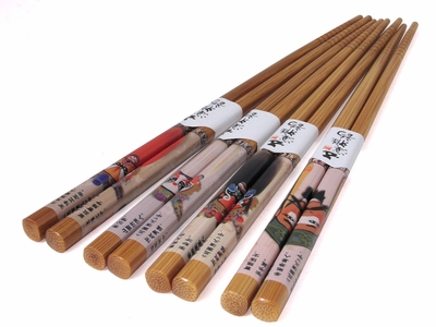 Traditional Chinese Opera Mask Chopsticks Set