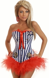 2 PC Pin-Up Sailor Costume (IN STOCK)