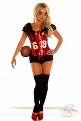 "2 PC Sexy ""Football Fantasy"" Costume - IN STOCK"