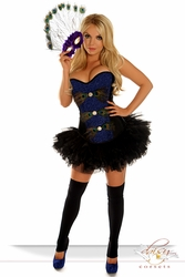 "3 PC Sexy ""Pretty Peacock"" Costume - IN STOCK"