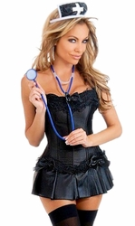 4 PC Dark Nurse Costume (IN STOCK)