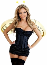 4 PC Queen Bee Costume (IN STOCK)