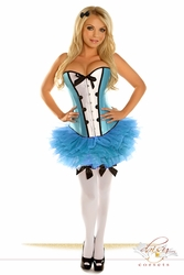 4 PC Sexy Alice Costume - IN STOCK