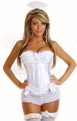 4 PC Sexy Angel Costume (IN STOCK)