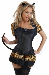 4 PC Sexy Cat Costume (IN STOCK)