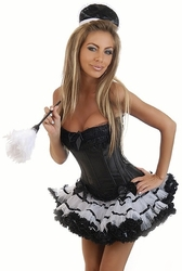 4 PC Sexy French Maid Costume (SOLD OUT)