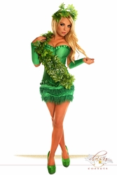 "4 PC Sexy ""Ivy Vixen"" Costume - IN STOCK"