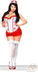 4 PC Sexy Nurse Costume (IN STOCK)