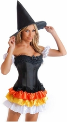 4 PC Sexy Witch Costume (IN STOCK)