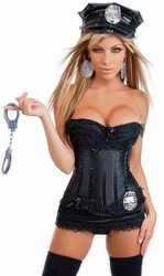 5 PC Sexy Cop Costume (IN STOCK)