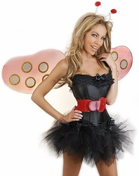 5 PC Sexy Ladybug Costume (IN STOCK)