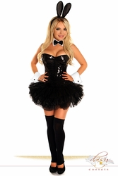 5 PC Sexy Sequin Bunny Costume - IN STOCK