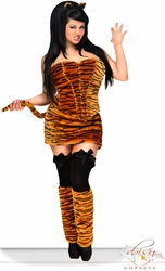 "5 PC Sexy ""Tigress"" Costume"