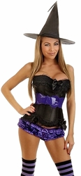5 PC Sexy Witch Costume (IN STOCK)